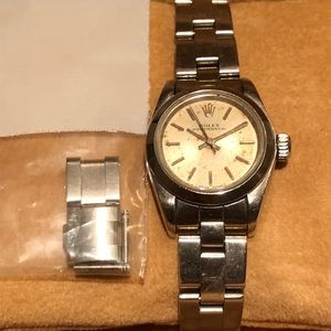 Rolex stainless steel Oyster perpetual all papers